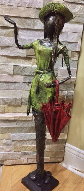 April Showers www.gardeninspirations.ca #powertex #paverpol #gardensculpture #sculpture
