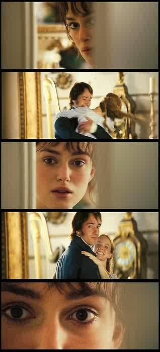 Pride and Prejudice~~~that awkward moment when you make eye contact with someone through the toilet stall cracks...sorry