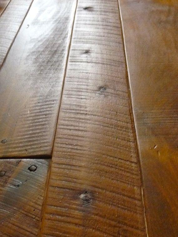 "Poplar Blend Barnwood - Antique Reclaimed Hardwood Flooring - Solid Wood - 3/4"" - T&G"