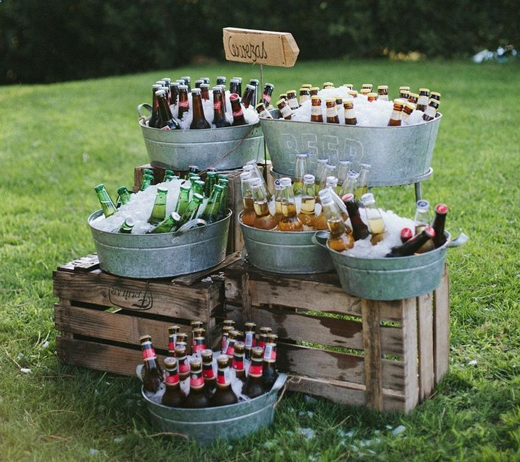 35 Loopy Inventive Drink Stations For Your Massive Day