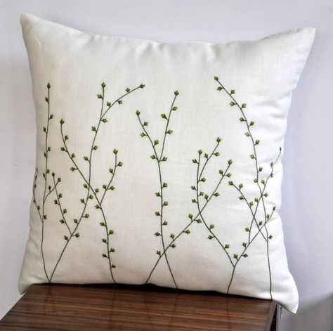 Buillon Rose Pillow with Tassels