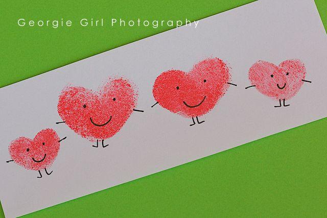 Amor y Lollipops: Diversión de huellas dactilares