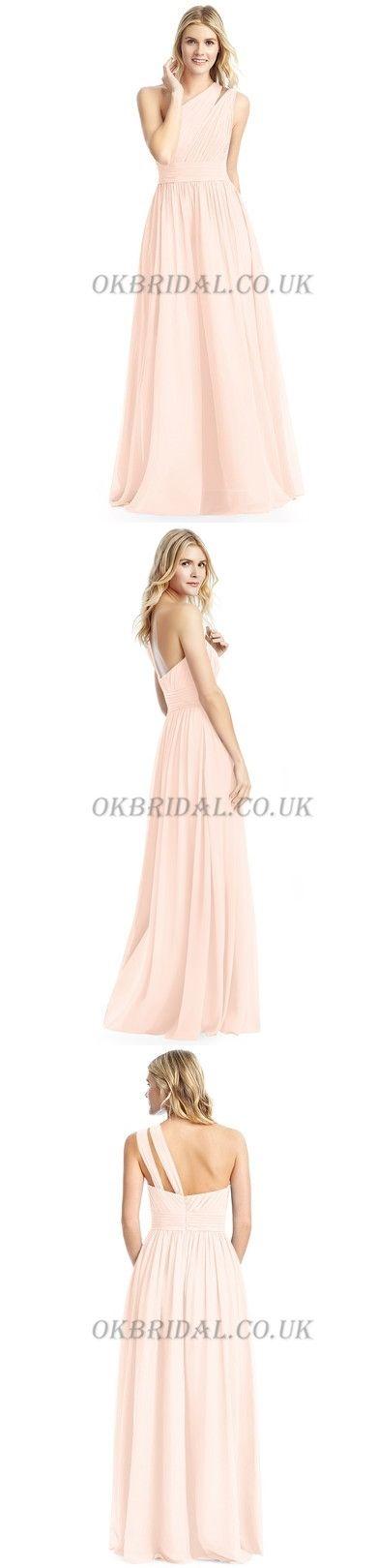 Tulle Bridesmaid Dress, One Shoulder Bridesmaid Dress, Backless Bridesmaid Dress #okbridal
