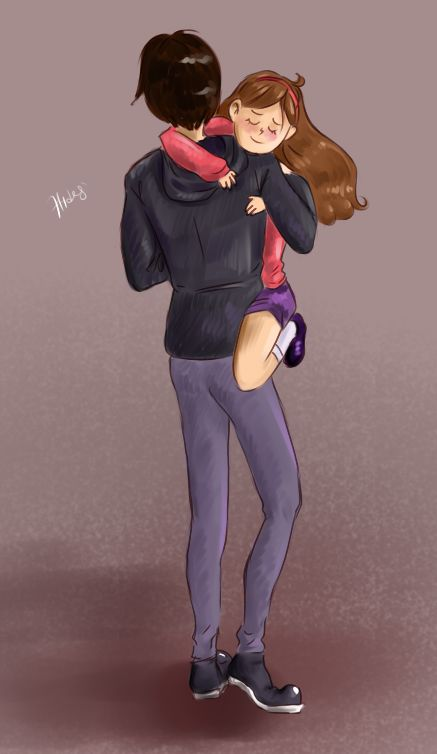 Image result for gravity falls robbie/mable