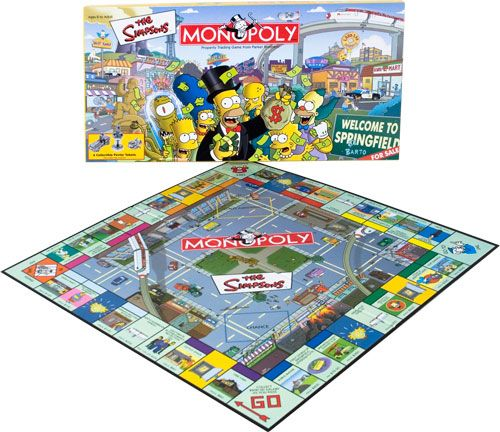 Simpsons monopoly! Apparently hard to find now :(
