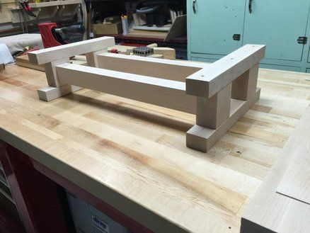 Moxon Benchtop Bench Again In 2019 Woodworking