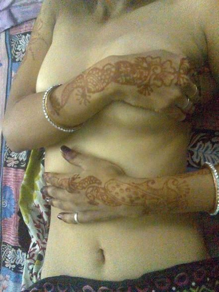 #mehndi #boobs #breast