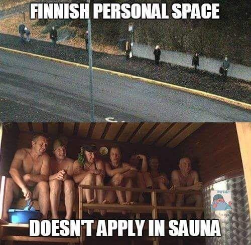 """""""Ja bussipysäkkietäisyys pätee myös esim uimahallin saunassa, niin pitkälle kuin se on mahdollista."""" -hapsi_"""