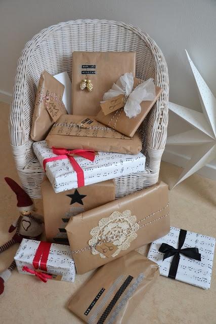 Paketinslagning - Popetotrora