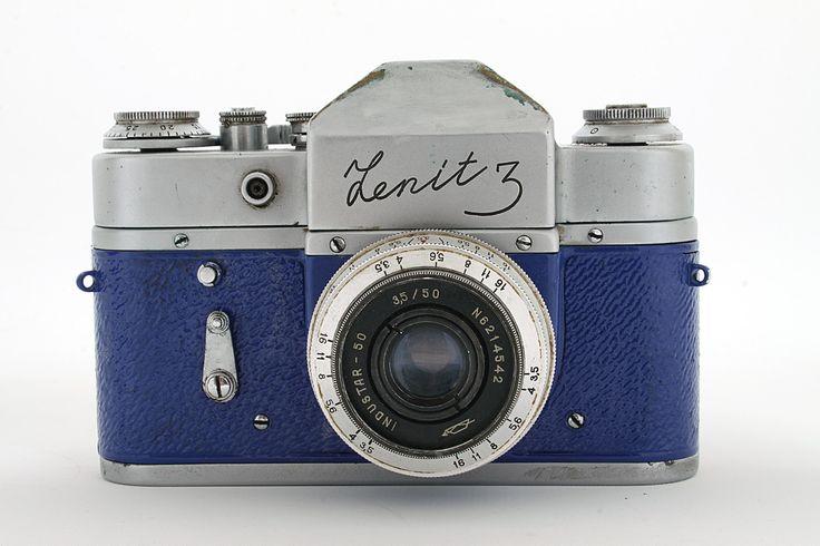 Vintage Zenit 3 Camera