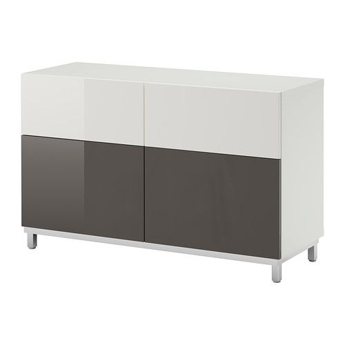 best storage combination w doors drawers white tofta high gloss gray ikea renovation and. Black Bedroom Furniture Sets. Home Design Ideas