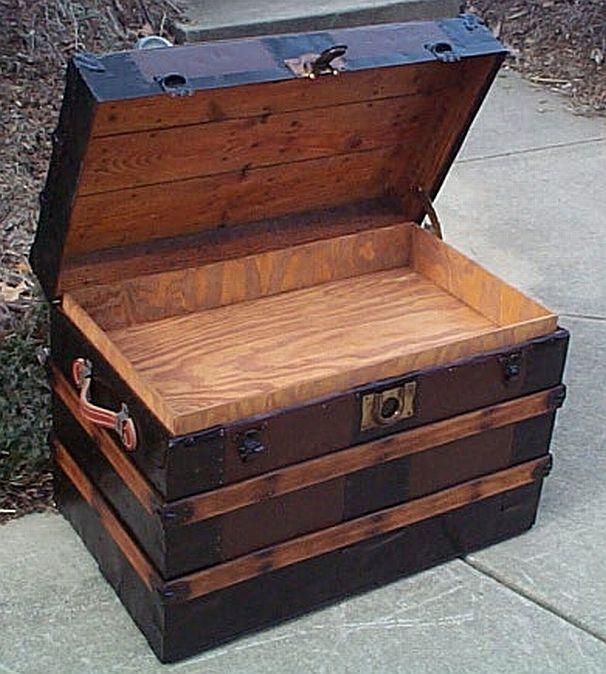 Restored Antique Trunk