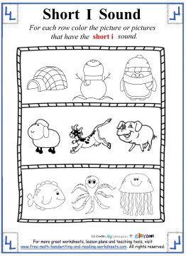 40 best Short Vowel Worksheets images on Pinterest   Homeschool ...