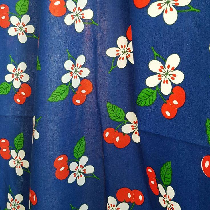 Finlayson Finland vintage fabric / tablecloth