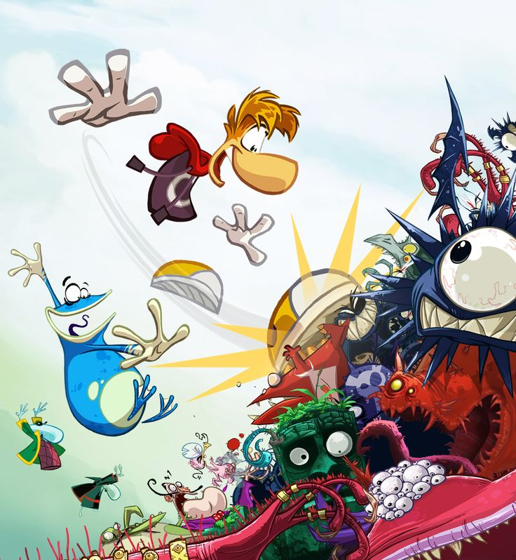 Rayman Origins : The one video-game that my brother can actually play without any help...