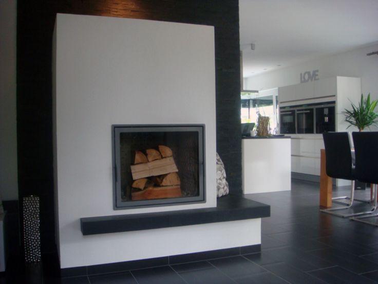 13 besten moderne kamine aus rohstahl und beton bilder auf. Black Bedroom Furniture Sets. Home Design Ideas