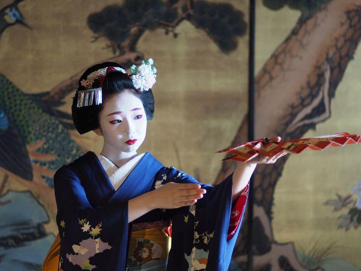 Maiko Toshimomo. #japan #kyoto #geisha #maiko #geiko #kimono
