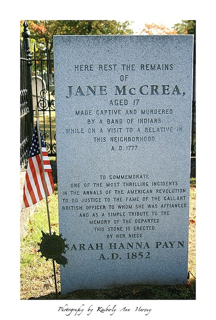 A literary analysis of the death of jane mccrea