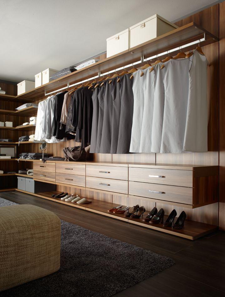Cajones flotantes pinterest Diseno de interiores closets modernos