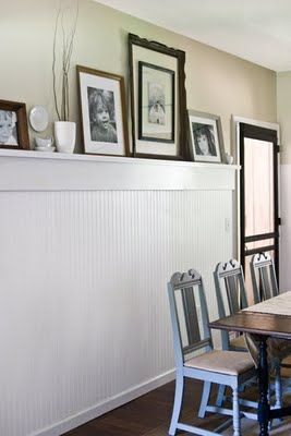 Day 17–Add some wainscoting to your home - The Frugal Homemaker | The Frugal Homemaker