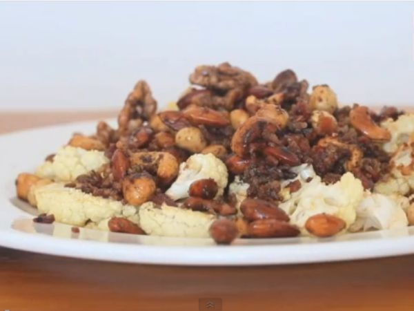 Recipe for Spicy nuts from Tim Noakes' new book