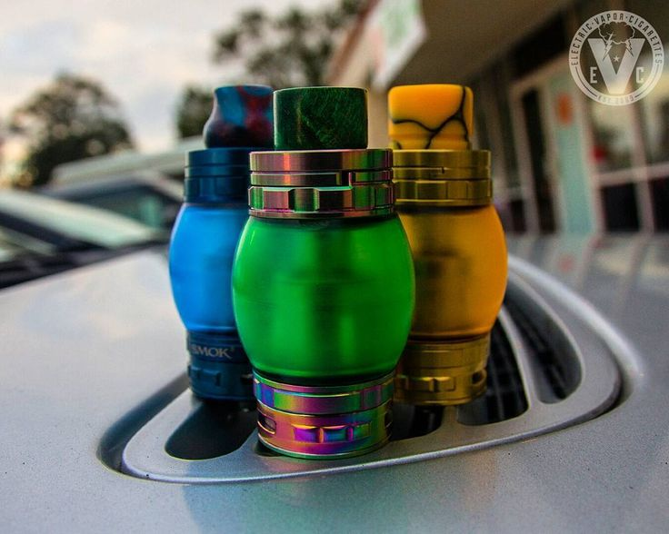 Who says your Smok TFV8 Cloud Beast Tank Atomizer looks like any plain 'ol atty?  Point them to EVCigarettes to check out our 7.5mL expansion tanks available in 6 colors, or our multiple styles of drip tips that fits the TFV8 and many other atomizers in y http://augustjarpemo.se/url/gtavapeshop294732