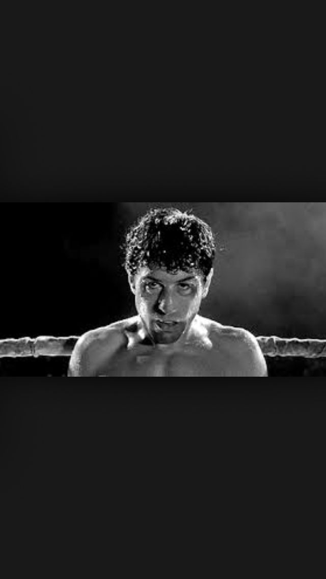 """Hey, Ray, I never went down, man! You never got me down, Ray! You hear me, you never got me down"". Jack La Motta  Raging Bull (1980)"