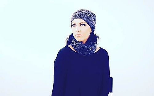 R A M S G A T E - Hat and cowl design by Lisa Mutch.  Mysterious Midnight gives this textural set it's dark allure. http://www.ravelry.com/patterns/library/ramsgate