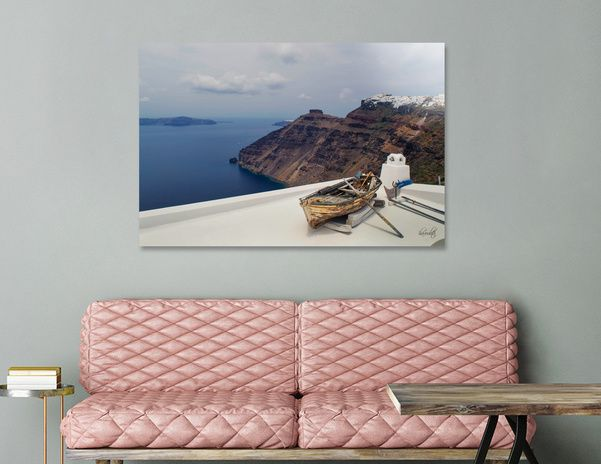 Discover «Santorini.», Limited Edition Acrylic Glass Print by haroulita - From 95€ - Curioos