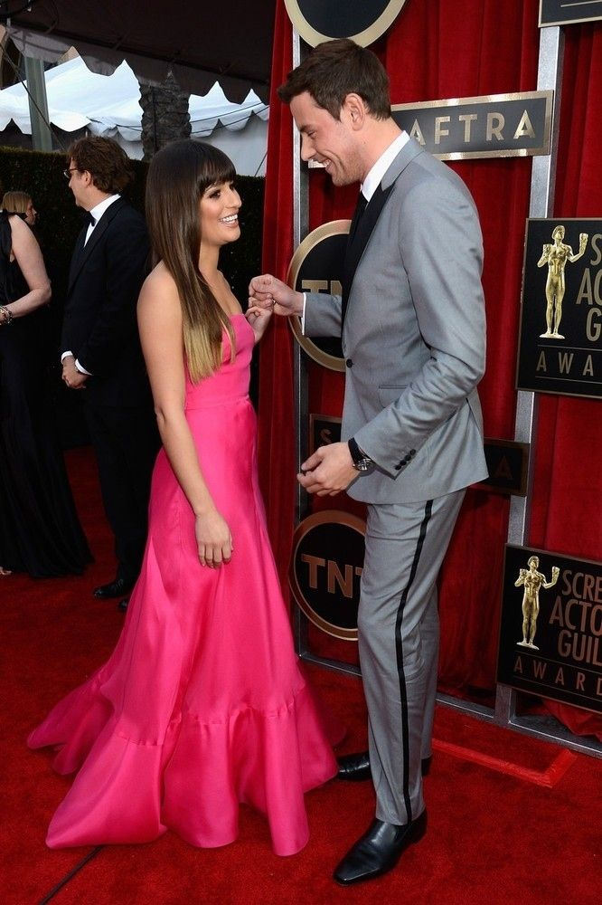 They had such a cute relationship! - A Timeline Of Cory Monteith And Lea Michele's Relationship