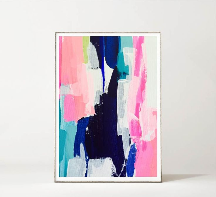 This artwork by maggie macdonald is a limited edition giclee art print created from an original work on canvas. A vibrant abstract floral to brighten up your space.