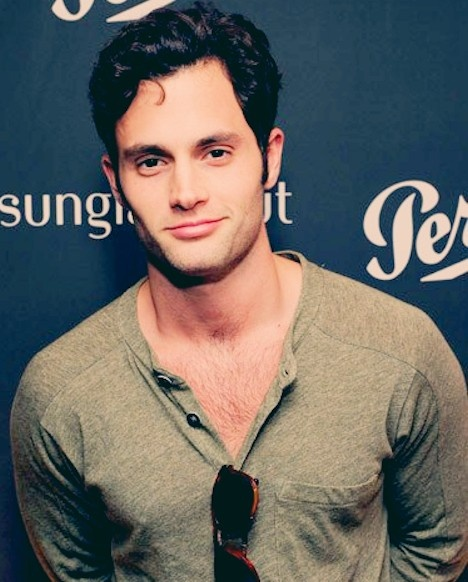Penn Badgley (: This is what I want, if you have a problem with that go truck yourself.