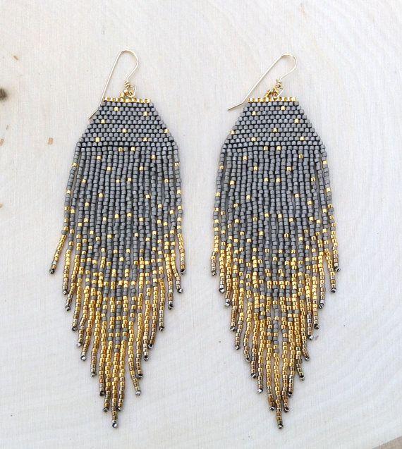 Perles mates et 24 k plaqué or perles sont un parfait ensemble ! Les perles Mats vraiment mettre en évidence les mouchetures or et leur faire