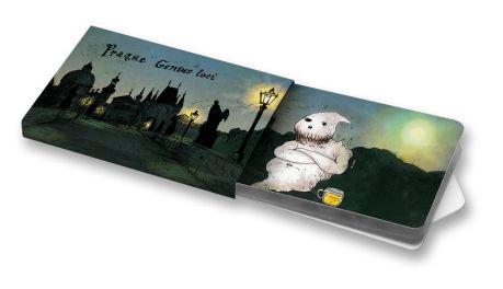 Genius Loci  #Praha #Prague #ilustration #ilustrace #ChewingGums #žvýkačky #CharityGums