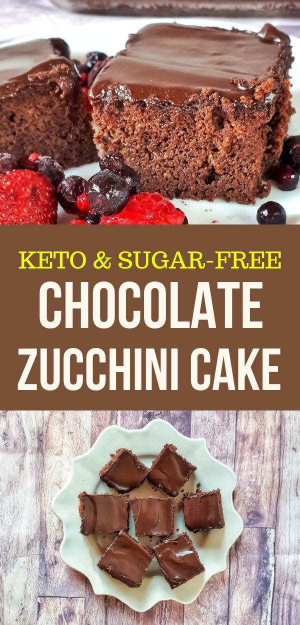 Keto Low Carb Chocolates Zucchini Cake Recipe With Images