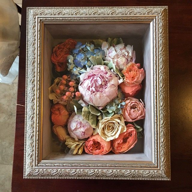 Want to do! A friend's wedding bouquet. Flowers preserved with freeze-drying and UV protective case by Flowers Forever in Collierville.