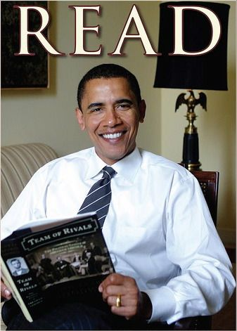 Obama reads