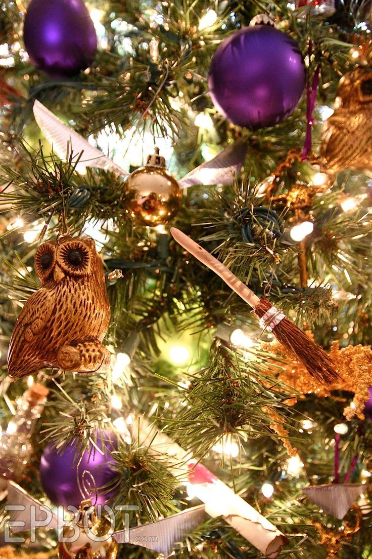 Harry Potterthemed Christmas Tree  Diy Harry Potter Quidditch Broom  Ornaments! From @