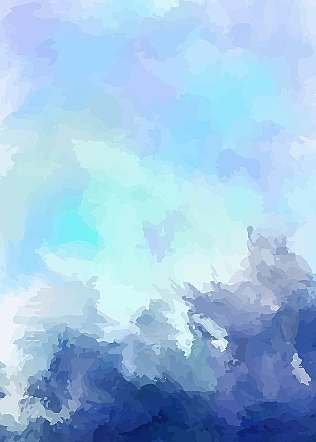 Art Vector Blue Background Fresh Ink Watercolor In 2020 Blue