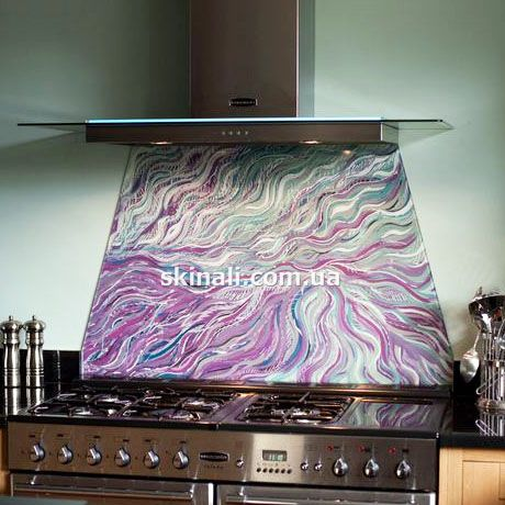 Glass splashbacks for kitchen - http://skinali.com.ua/skinali-kitchen.html