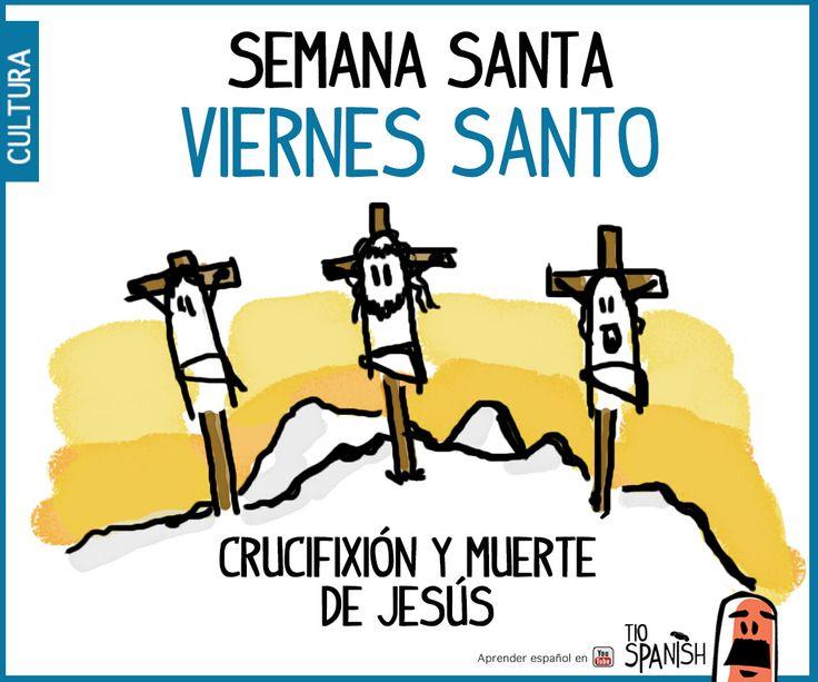 Viernes Santo, muerte de Jesús. Semana santa, pascuas ( haz clic para ver el video)
