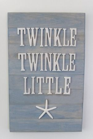 The cutest sign for a beach theme kids room by eskimokisses114
