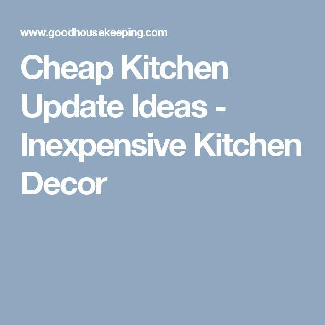 Best 25+ Cheap Kitchen Updates Ideas On Pinterest