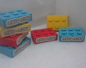 Caixa Bloco LEGO MARVEL