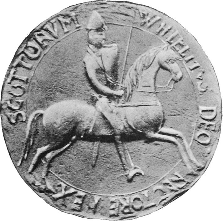 """Today in 1174 one of the longest reigning Scottish Kings William the Lion charged into battle before the walls of Alnwick Castle roaring """"Now we shall see which of us are good knights!""""  He was captured. He was forced to submit to English king Henry II to secure his freedom."""