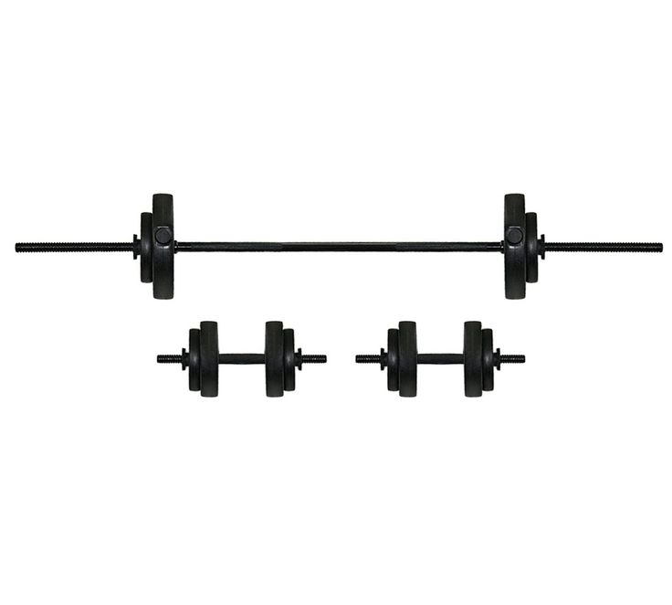 Buy EverLast Vinyl Barbell Dumbbell Set - 30kg at Argos.co.uk, visit Argos.co.uk to shop online for Weights and dumbbells, Weights, multi-gyms and strength training, Fitness equipment, Sports and leisure