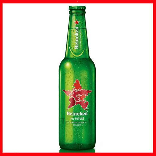Beer  BOTTIGLIA BIRRA HEINEKEN PIENA CL.25 OLANDA STORIA THE FUTURE EDIZIONE LIMITATA