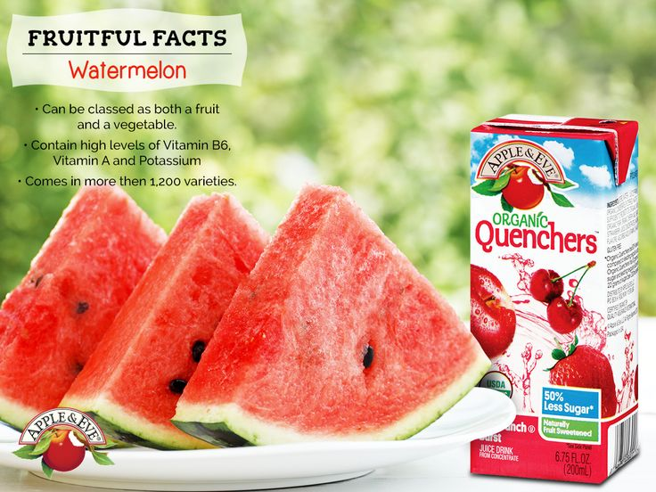 True or false? There's nothing like a refreshing piece of watermelon on a hot summer day.