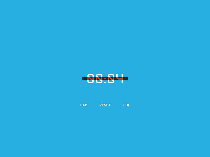 Countdown timer by Ryan Duffy