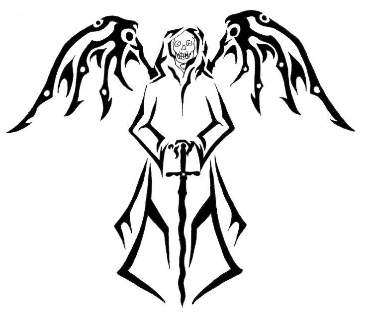 Tribal Death Tattoo: 15 Best Death Tribal Tattoos Images On Pinterest